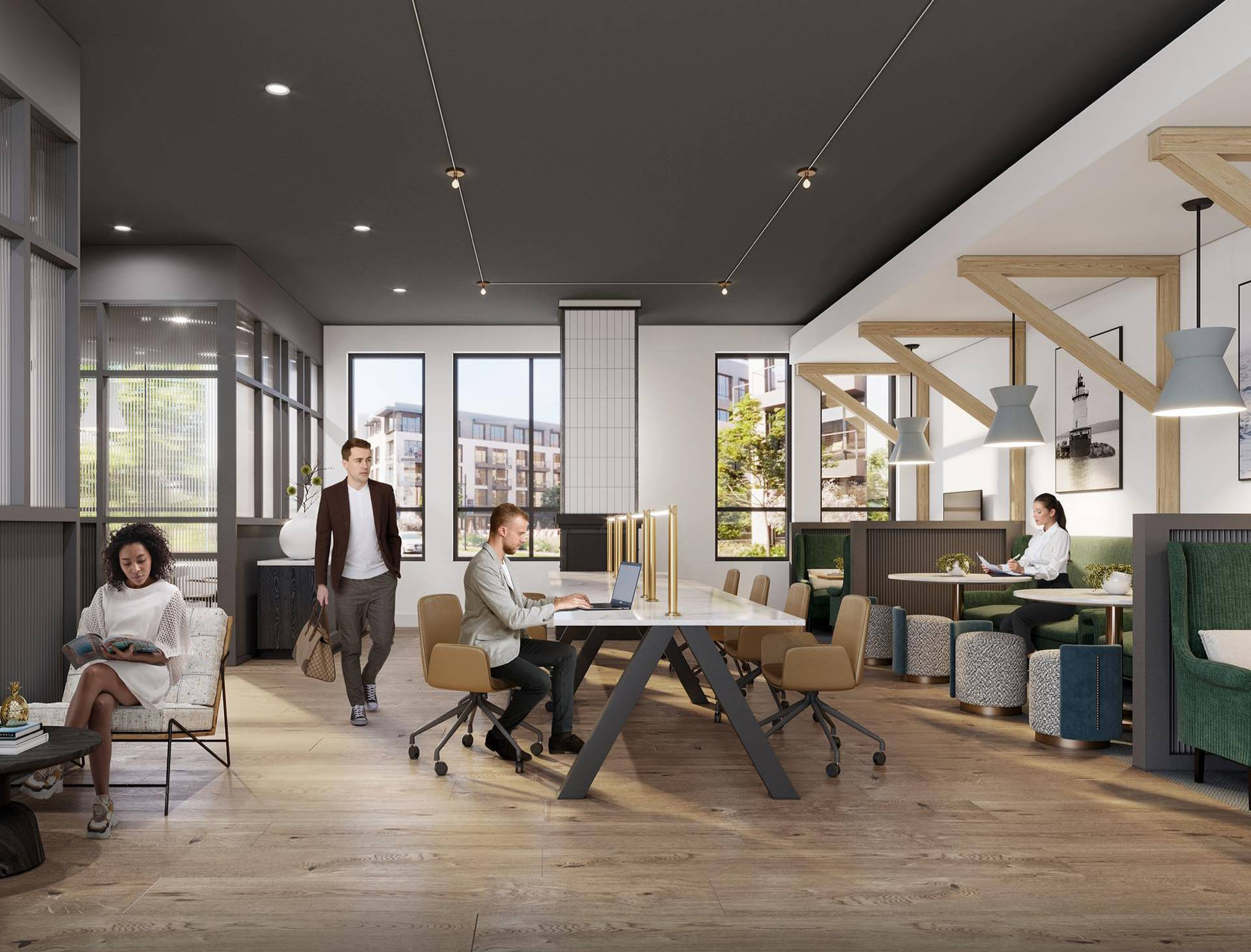Adaptable and modern coworking